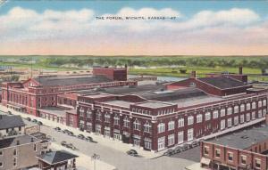 Bird's Eye View, The Forum, Wichita, Kansas, 30-40s