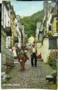 England Up-a-long Clovelly - unposted
