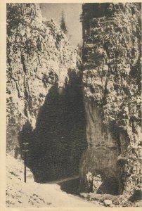 Romania Postcard Dimbovicioara Gorges picturesque view