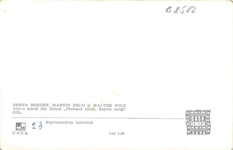 B8582 martin held senta berger walter wiltz movie star