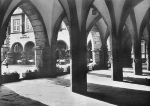 Goslar Harz Spitzbogen am Rathaus Town Hall