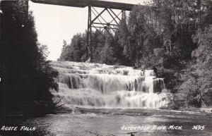 RP; Agate Falls, ONTONAGON RIVER, Michigan, 30-40s