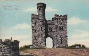 Massachusetts Worcester Bancrofts Tower 1910