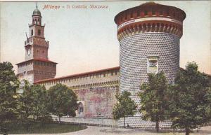MILANO, Il Castello Sforzesco, Lombardia, Italy, 00-10s