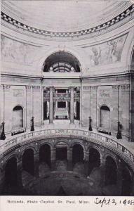 Minnesota Saint Paul Rotunda State Capitol