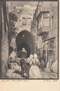 Street of the Chain , Jerusalem , 1900-10s