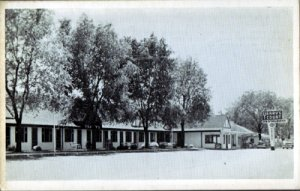 Corbin KY - Yeary's Motel and Restaurant located on Route 25W, 1940-50s