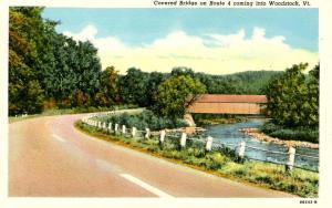 VT - Woodstock. Covered Bridge