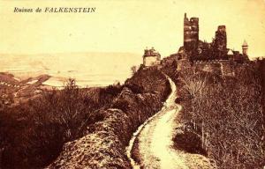 Ruines de Falkenstein near Pfronton, Bavaria, Germany, 00-10s