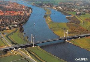 Netherlands Kampen Bridge River Pont Panorama