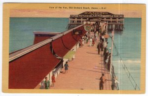 Old Orchard Beach, Maine, View of the Pier