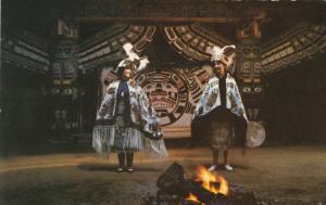 Indian Dancers , Alert Bay , B.C. , Canada , 50-60s