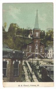 Exterior, M.E. Church, Galena,Illinois,00-10s