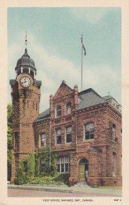 NAPANEE, Ontario, Canada, 1900-1910's; Post Office