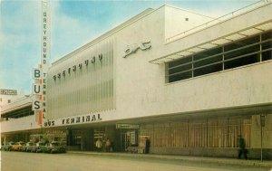 Dexter Greyhound Bus Terminal Detroit Michigan 1960s Postcard Ludington 10652
