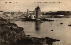 CPA Cote d'emeraude St-SERVAN - Vue générale (584258)