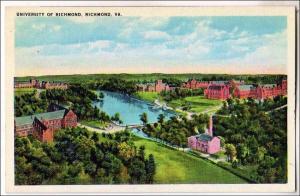 University of Richmond, Richmond VA