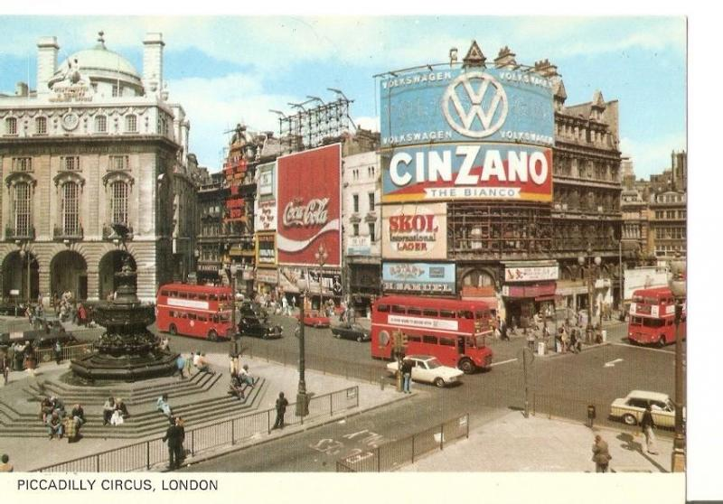Postal 032732 : Piccadilly Circus London
