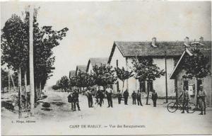France - Military Camp de Mailly Vue des Baraquements 01.30