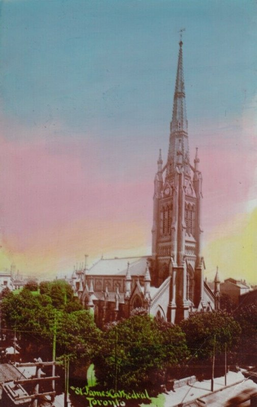 TORONTO , Ontario , Canada , 1900-1910s ; St James' Cathedral # 4