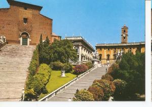 Postal 046618 : Roma. The Capitol and Church of Santa Maria in Aracoeli