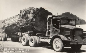 RP: Logging Truck , 1930-40s California ; LAWS 1915