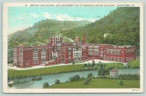 Johnstown PA~Senior High School~University of Pittsburgh Junior College~1930 PC