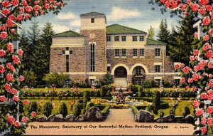 Oregon Portland The Monastery Sanctuary Of Our Sorrowful Mother
