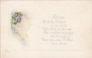 Violets, Mother´s Day Poem, 00-10s