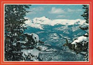 James Peak In The Winter Denver Colorado