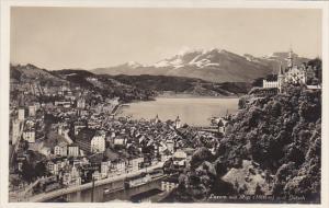 Switzerland Luzern mit Rigi und Guetsch Photo