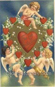 Valentines Day Unused close to perfect corners