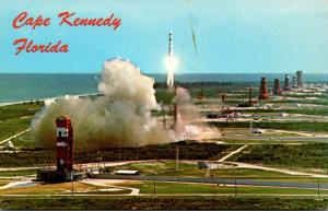 Florida John F Kennedy Space Center Aerial View Atlantic Missile Row