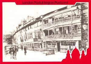 Royal Mail London Postcard, The George at Southwark, Mail Coaching Inn V93