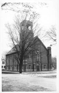 Constantine Michigan Messiah Lutheran Church Real Photo Postcard K89714