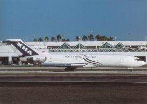 KITTY HAWK AIRCARGO, Boeing 727-214, unused Postcard