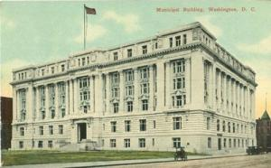 Municipal Building, Washington D.C. 1912 used Postcard