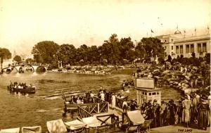 UK - British Empire Exhibition, 1924. The Lake