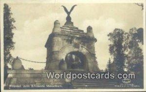 John Ericssons Mausoleum, Filipstad Sweden 1928