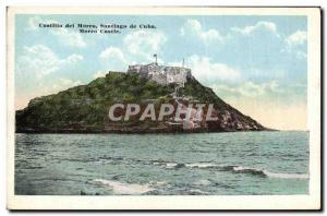 Postcard Old Cuba Castillo del Morro Santiago Morro Castle