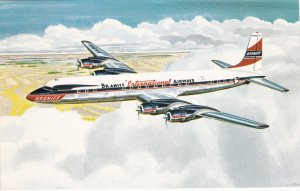 BRANIFF International Airways Airplane in flight, 1950-60s