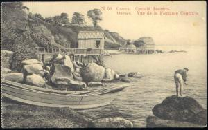 ukraine russia, ODESSA, Vue de la Fontaine Centrale (1912) Stamp