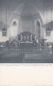 HILLTOWN , Pennsylvania, 00-10s ; St Peter Lutheran & Reformed Church Interior