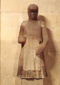 Dom zu Magdeburg Statue des Mauritius, Sandstein