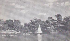 Illinois Bloomington East Bay Camp Lake Bloomington 1942
