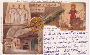Souvenir Des Catacombes De St. Calliste, Via Appia Antina, Roma (Lazio), Ital...