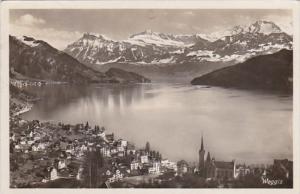 Switzerland Weggis Totalansicht 1934 Photo