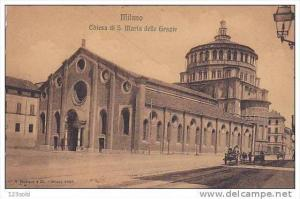 Chiesa Di S. Maria Delle Grazie, MILANO (Lombardy), Italy, 1900-1910s