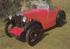 1930 Midget MG Type Morris Minor Style Classic Sports Car Postcard NEW