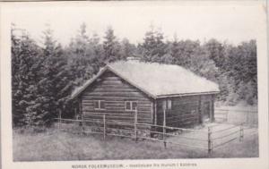 Norway Norsk Folkemuseum Haalistuen fra Hurum i Vaaldres